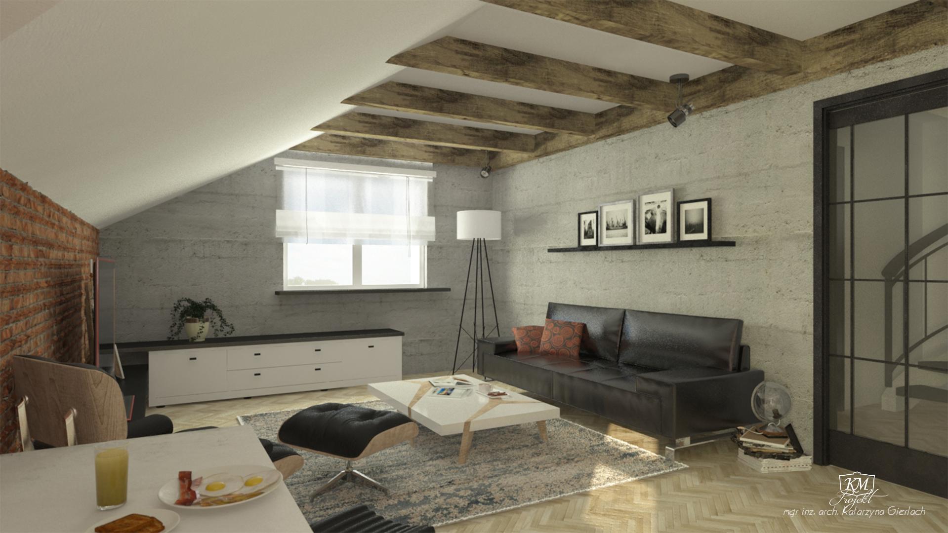 Mieszkanie zprojektem wnętrza