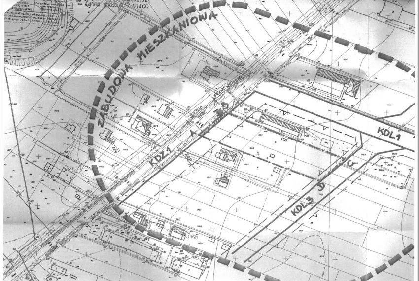 działka 40a-mapa