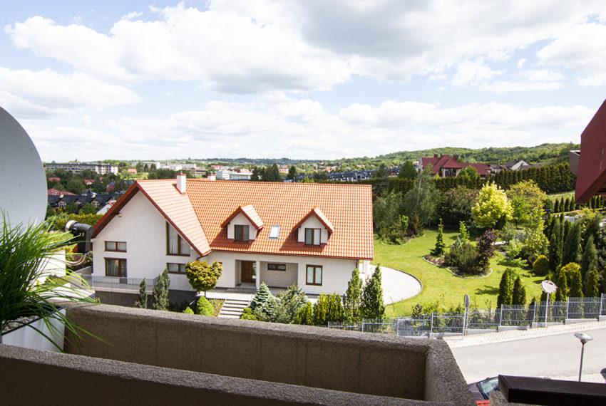 Sikorskiego widok z balkonu