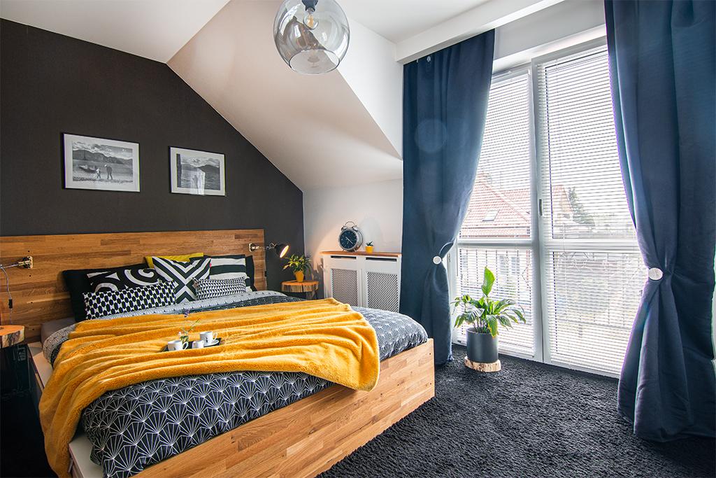 Bezczynszowe i umeblowane mieszkanie w szeregówce.